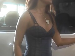 Marvelous hottie with sappy boobies gets nailed on the camera