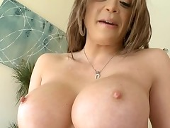 Horny chick with fine breasts likes to be double penetrated